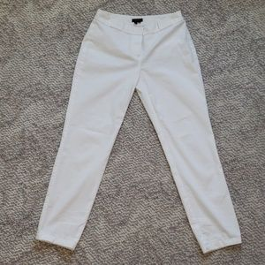 THEORY white pants.  Size 00. Pristine condition.